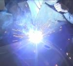 Видео пример работы сварочного роликового вращателя В1 СТС
